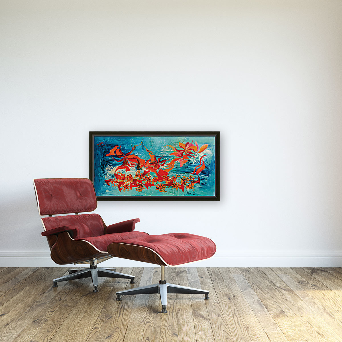 corals with Floating Frame