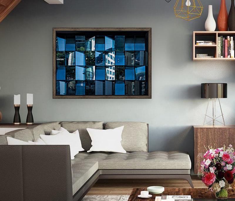 Blue Mirrors  Art