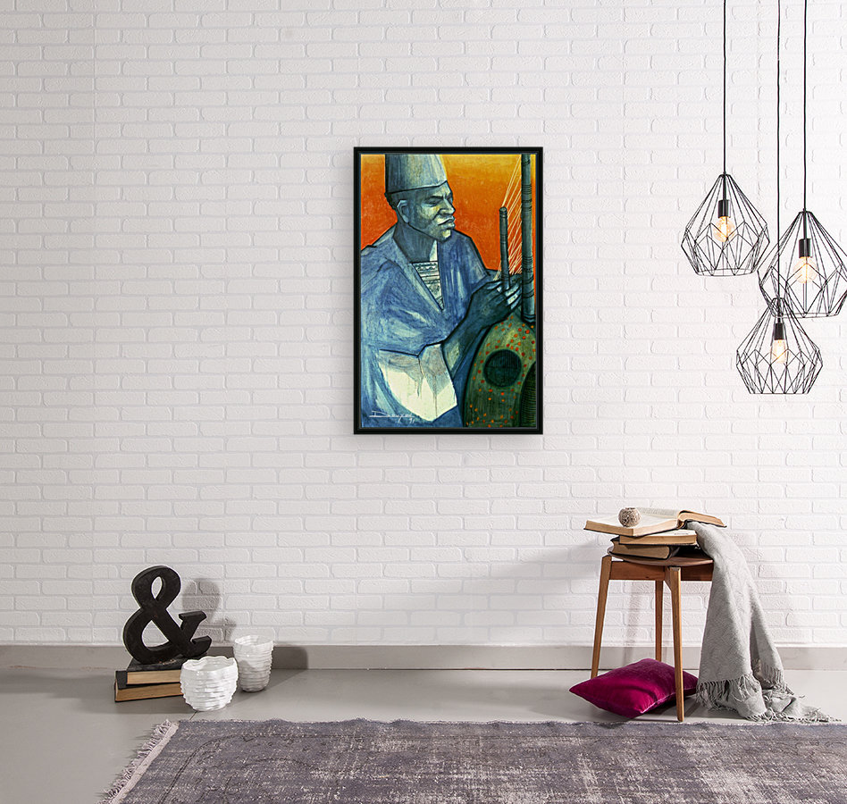 Griot with Floating Frame