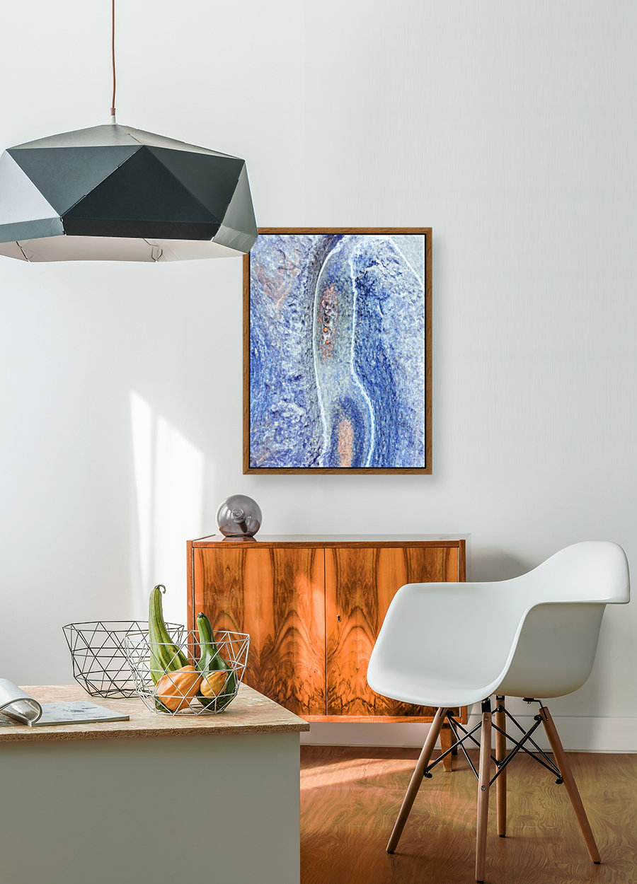 Australia Rocks - Abstract 10 with Floating Frame