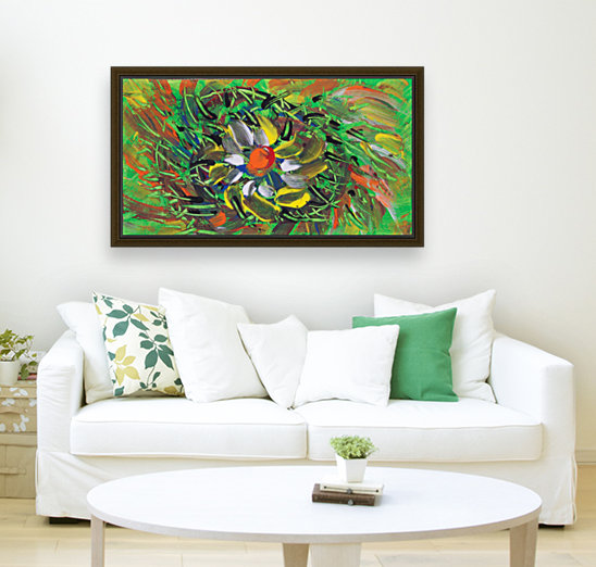 savage flower meadow abstraction  Art