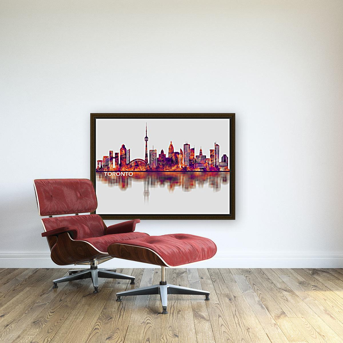 Toronto Canada Skyline  Art