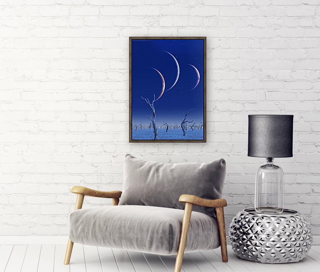 Three Planets Rise  Art