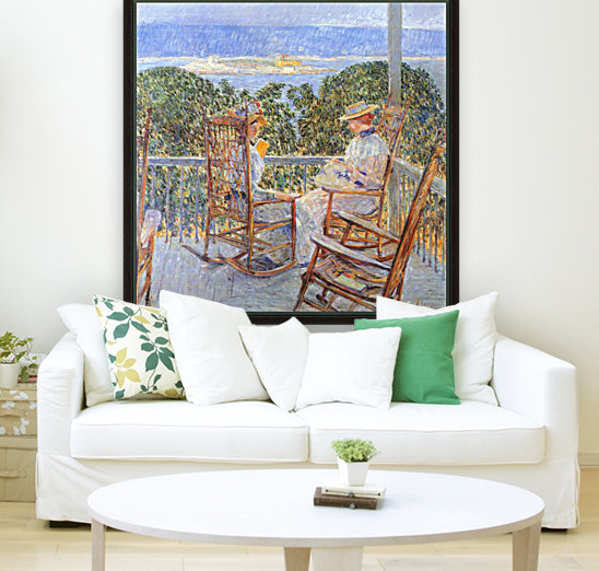 Ten Pound Island by Hassam with Floating Frame