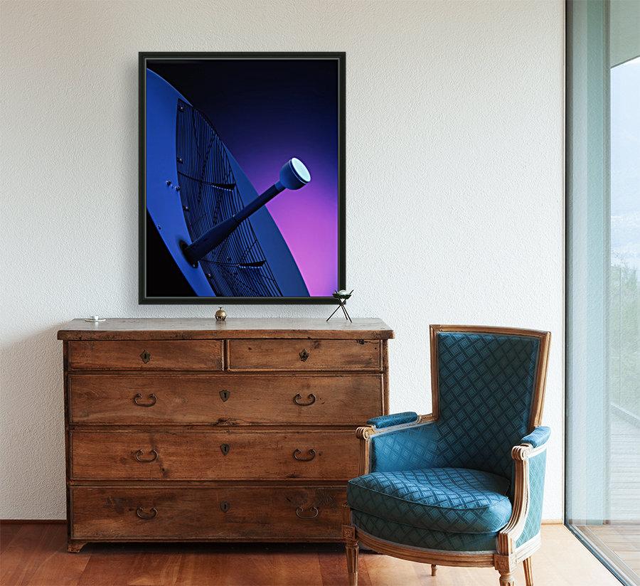 Blue Antenna  Art