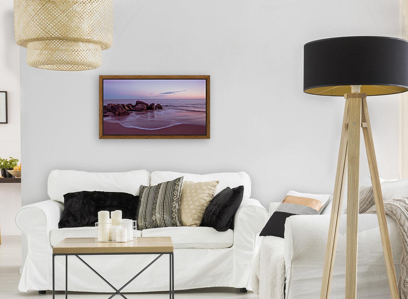 Coney Island sunset  Art