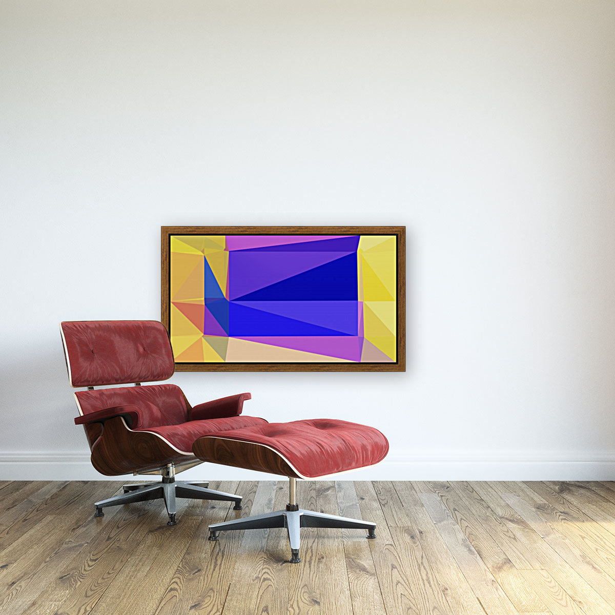 abstract colorful geometric shapes  Art