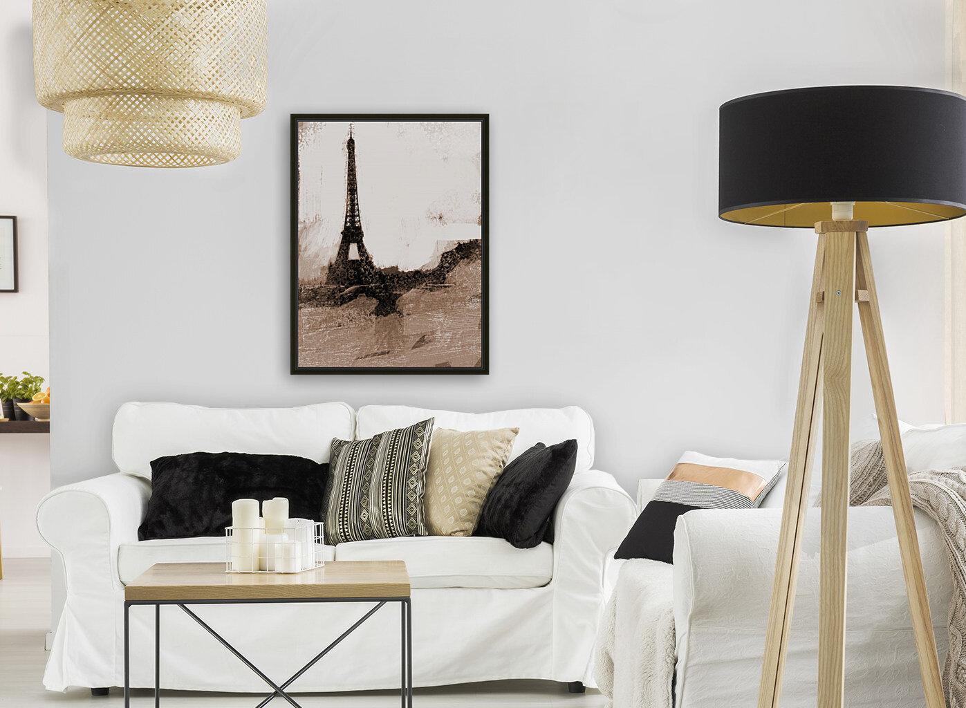 Paris Icon in Sephia  Art