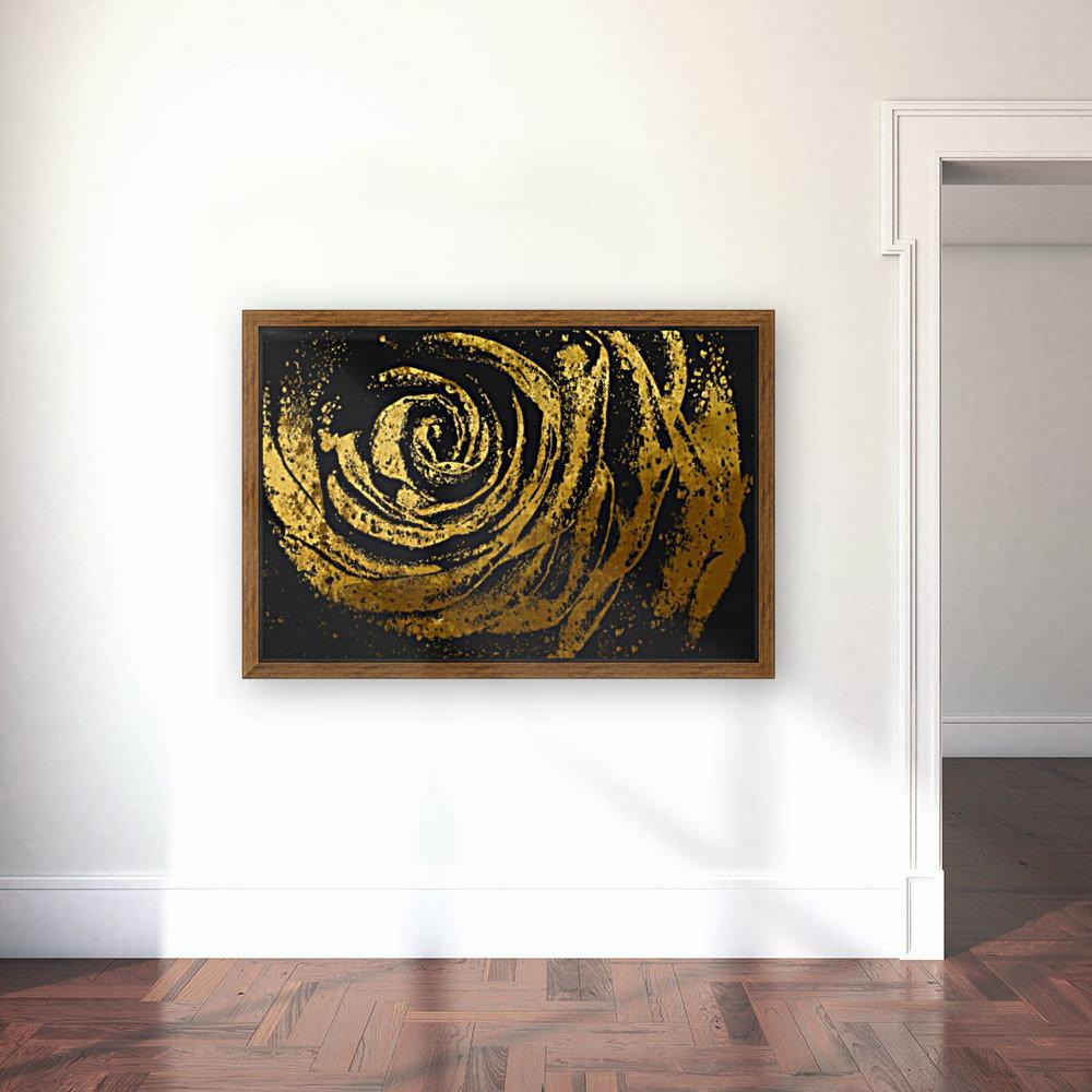 Golden rose  Art
