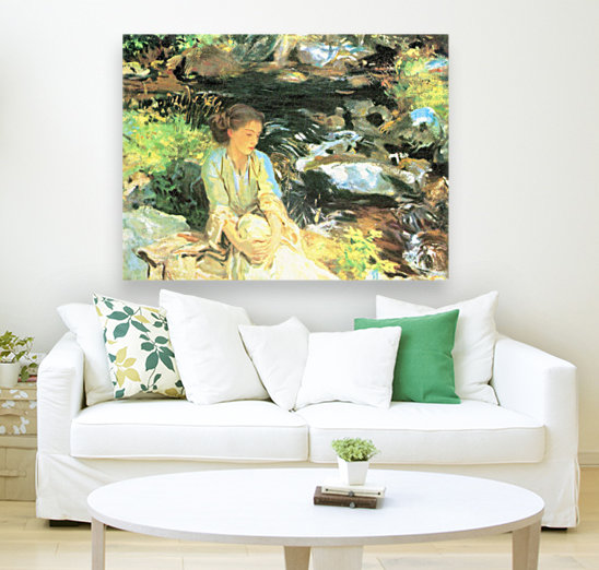 The black creek by John Singer Sargent  Art