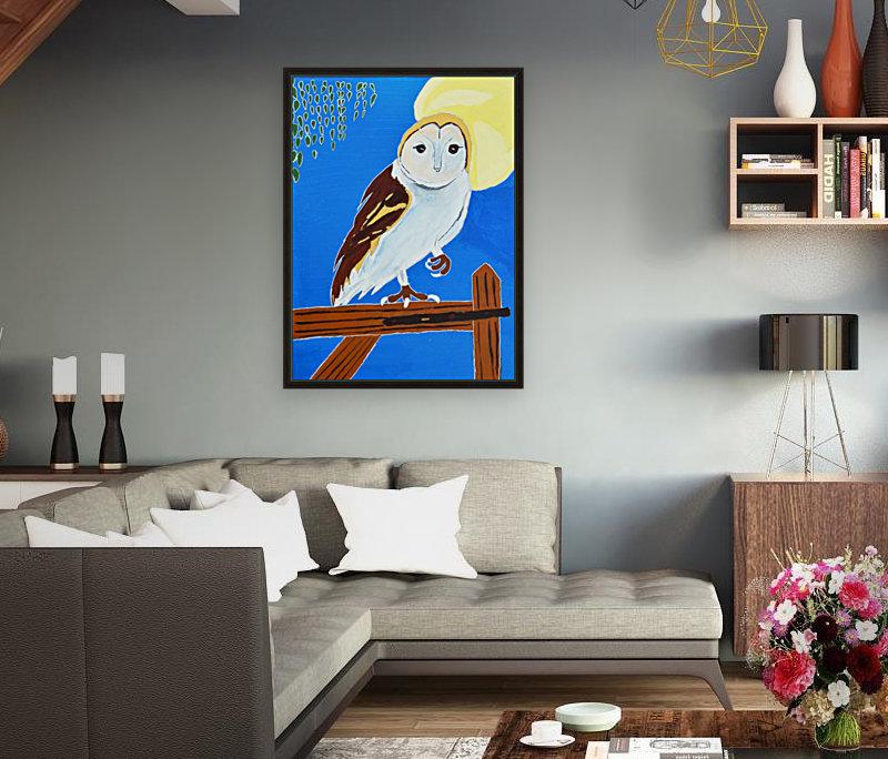 Davere H. Owl  Art