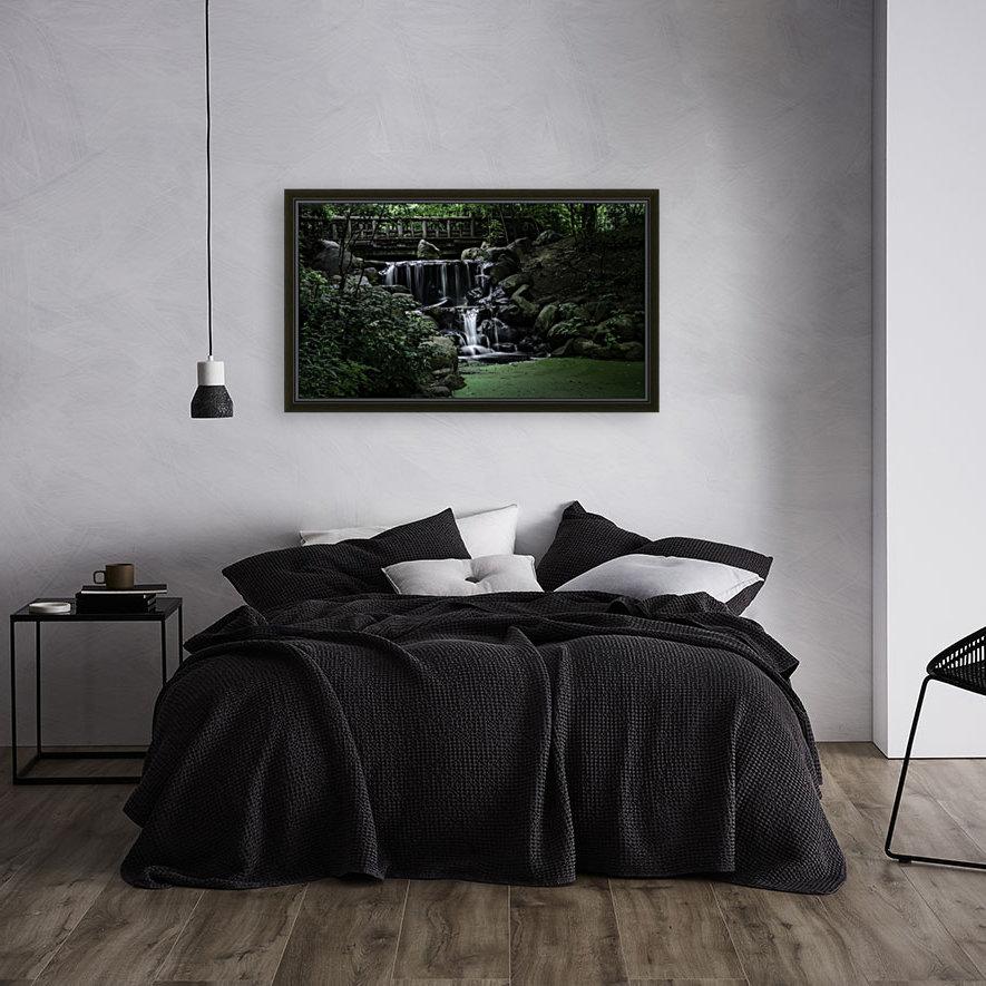 Prospect park waterfall no frame  Art