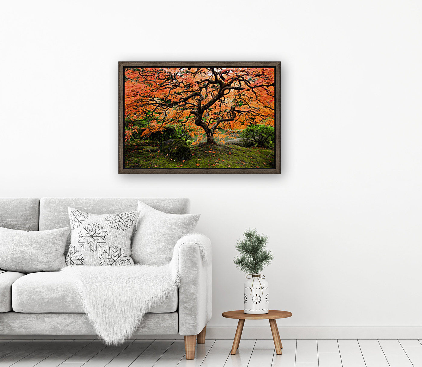 autumn bliss with Floating Frame