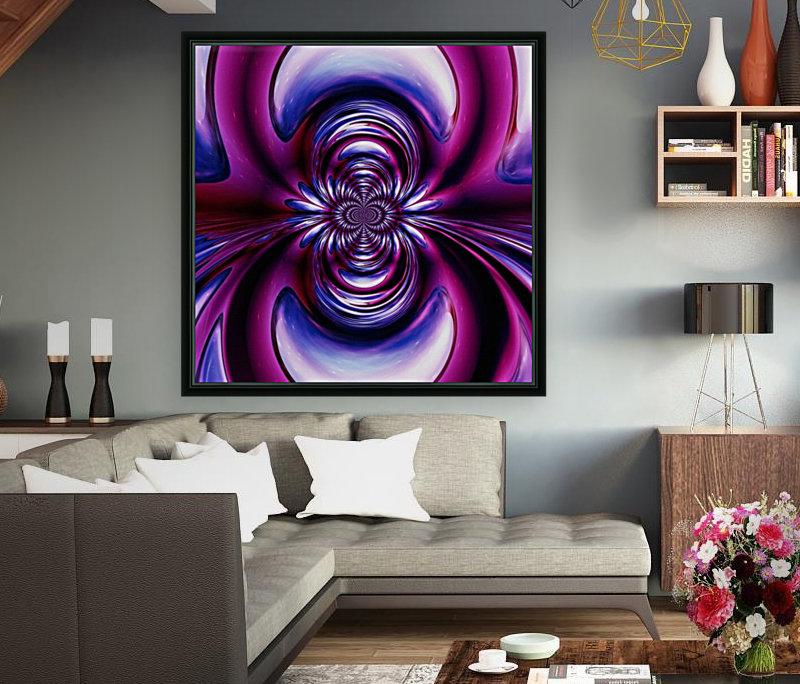 Purple Space  Art