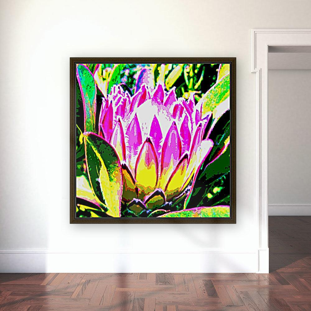 pink protea  Art
