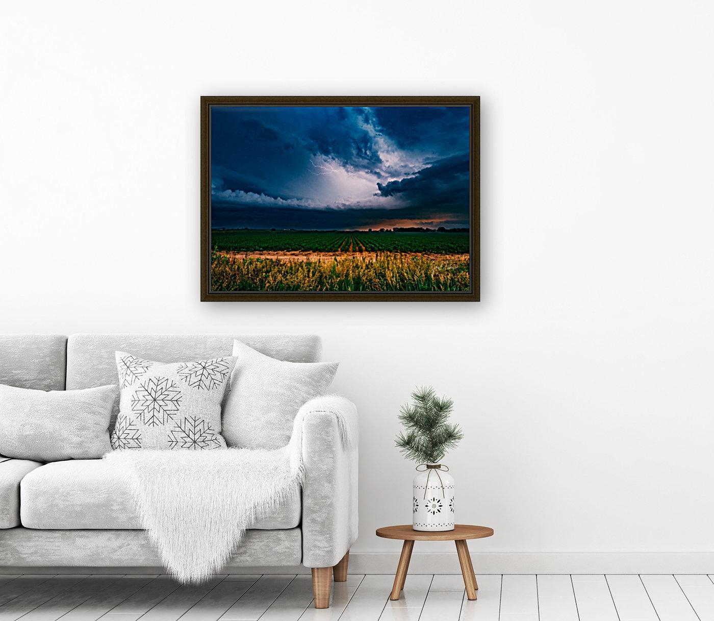 Prairie Lightning  Art