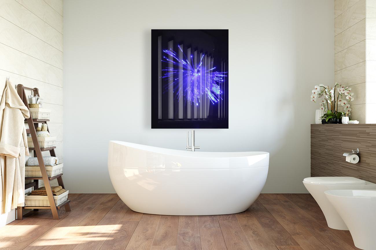 Blue Sparkle  Art