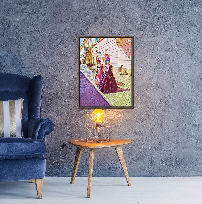 Purple Baroque  Art