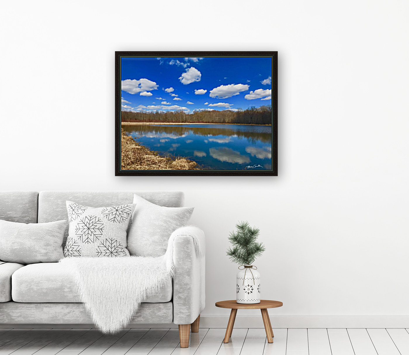 Pond Reflections  Art