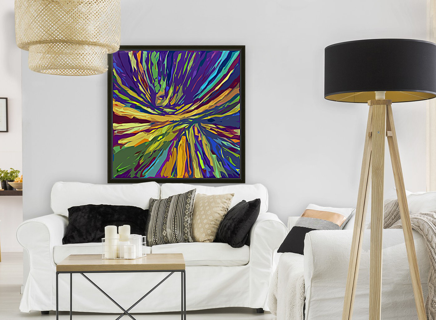 Abstract Composition 731  Art