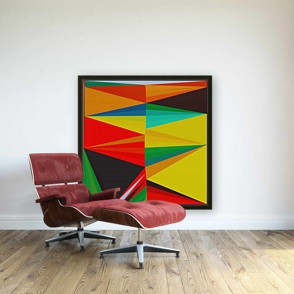 Abstract Composition 652  Art
