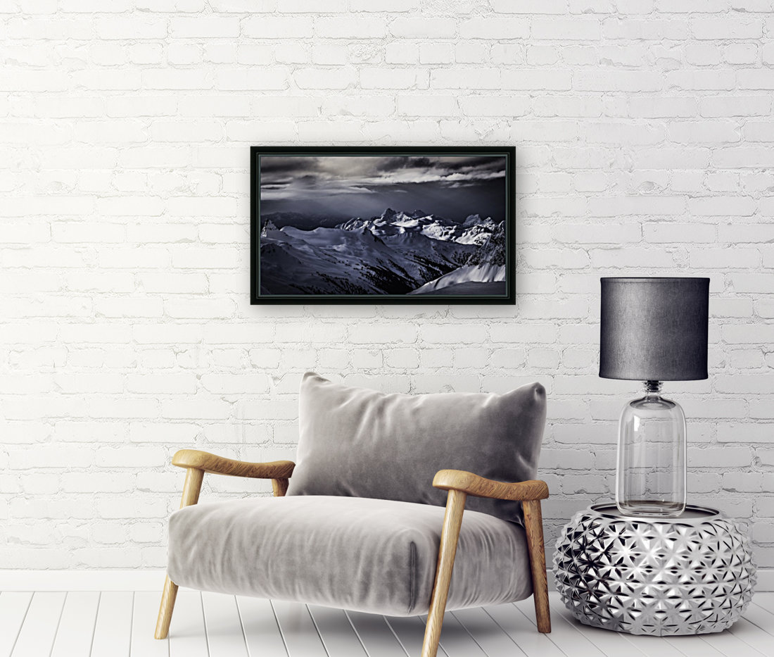 Mountain moods Whistler BC Back-country   Art