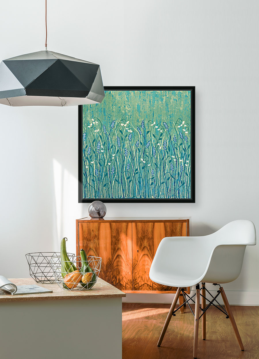 Abundant Wild Flowers with Floating Frame