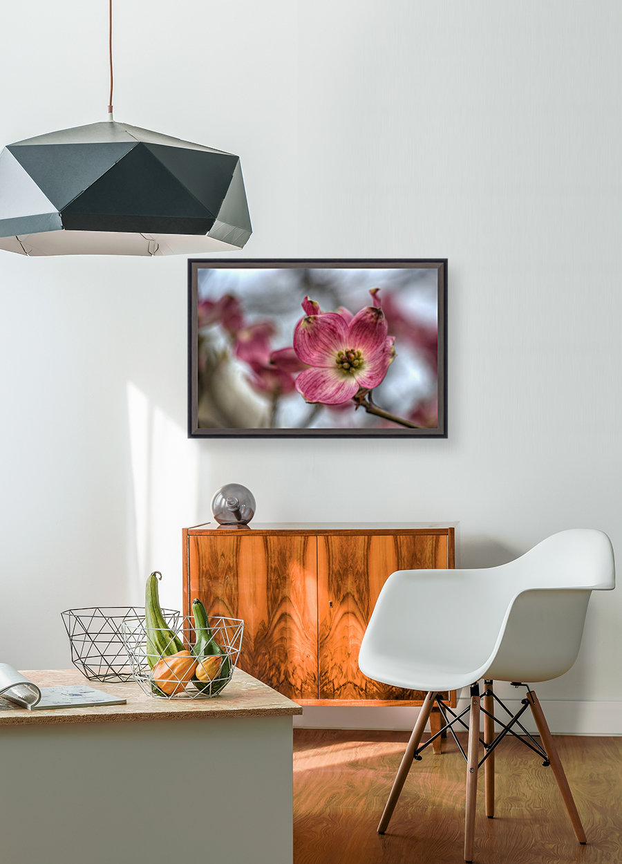 Spring Flowers with Floating Frame