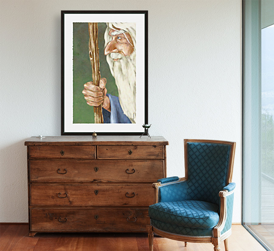 Gandalf with Floating Frame