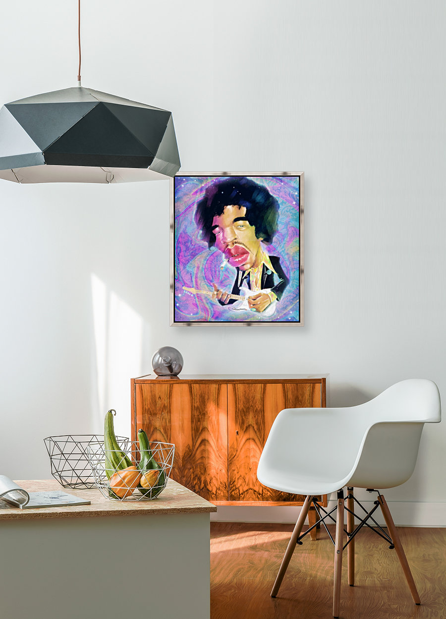 Jimi Hendrix Experience with Floating Frame