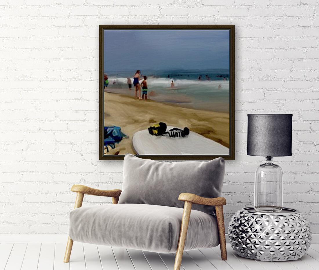 Beach at 52nd Street  Art