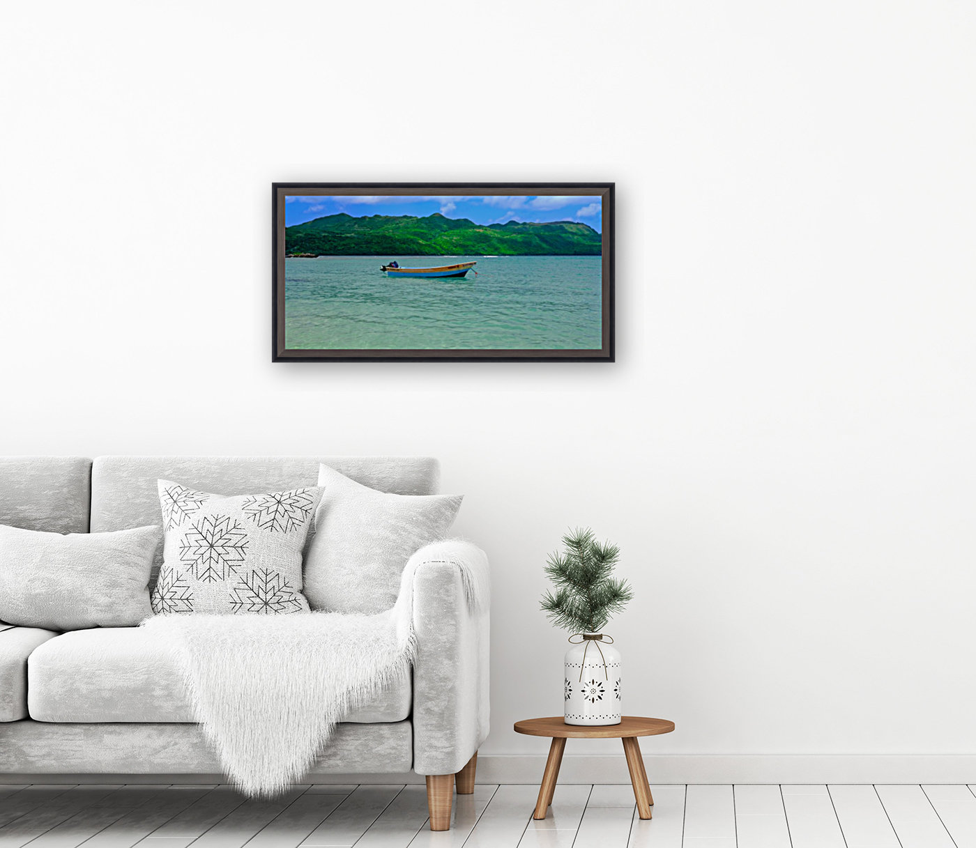 Samana Beach - Playa Rincon   Art