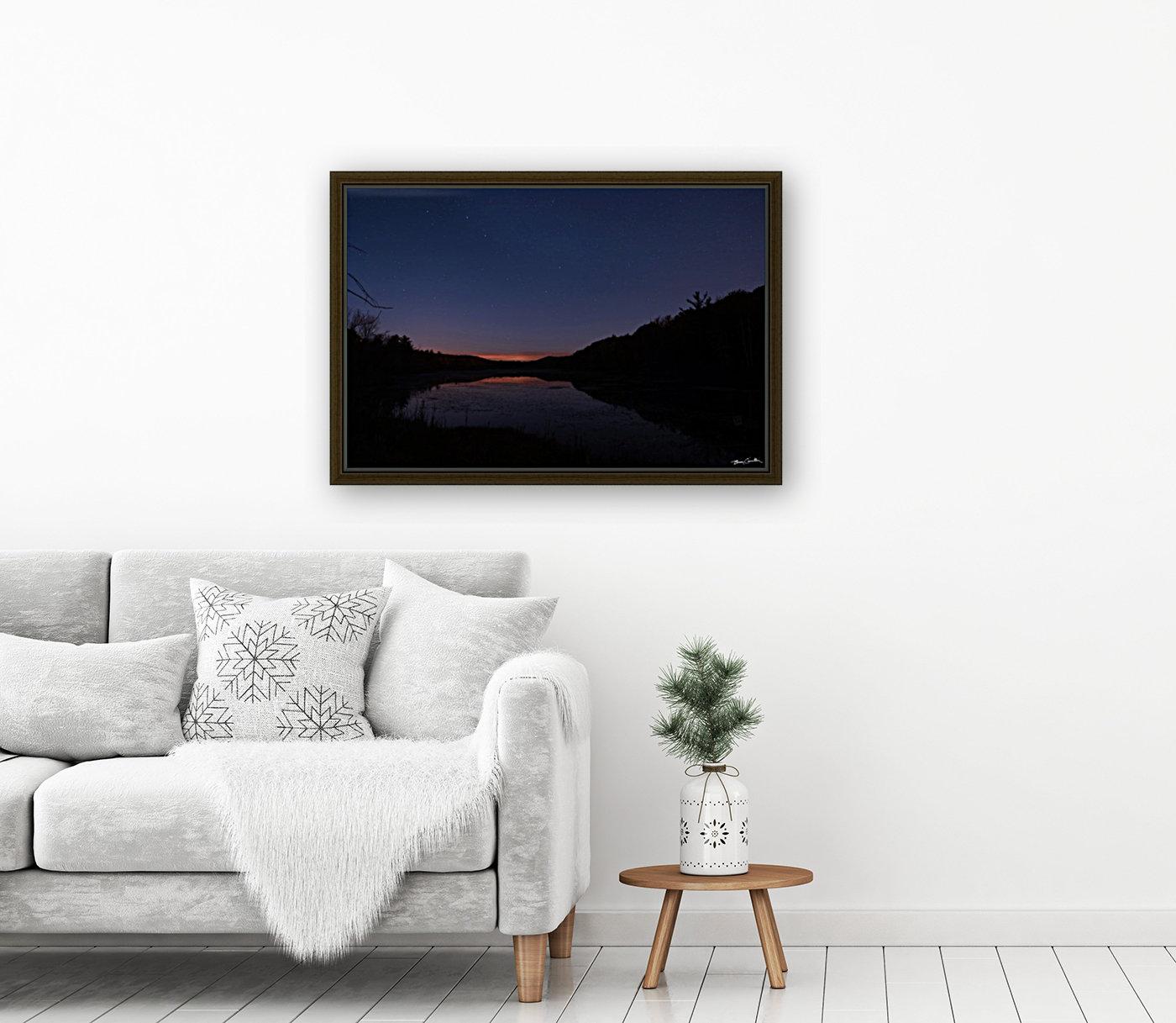 Starlit Pond  Art