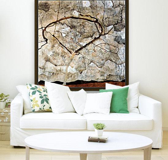 Autumn tree in the wind Schiele  Art