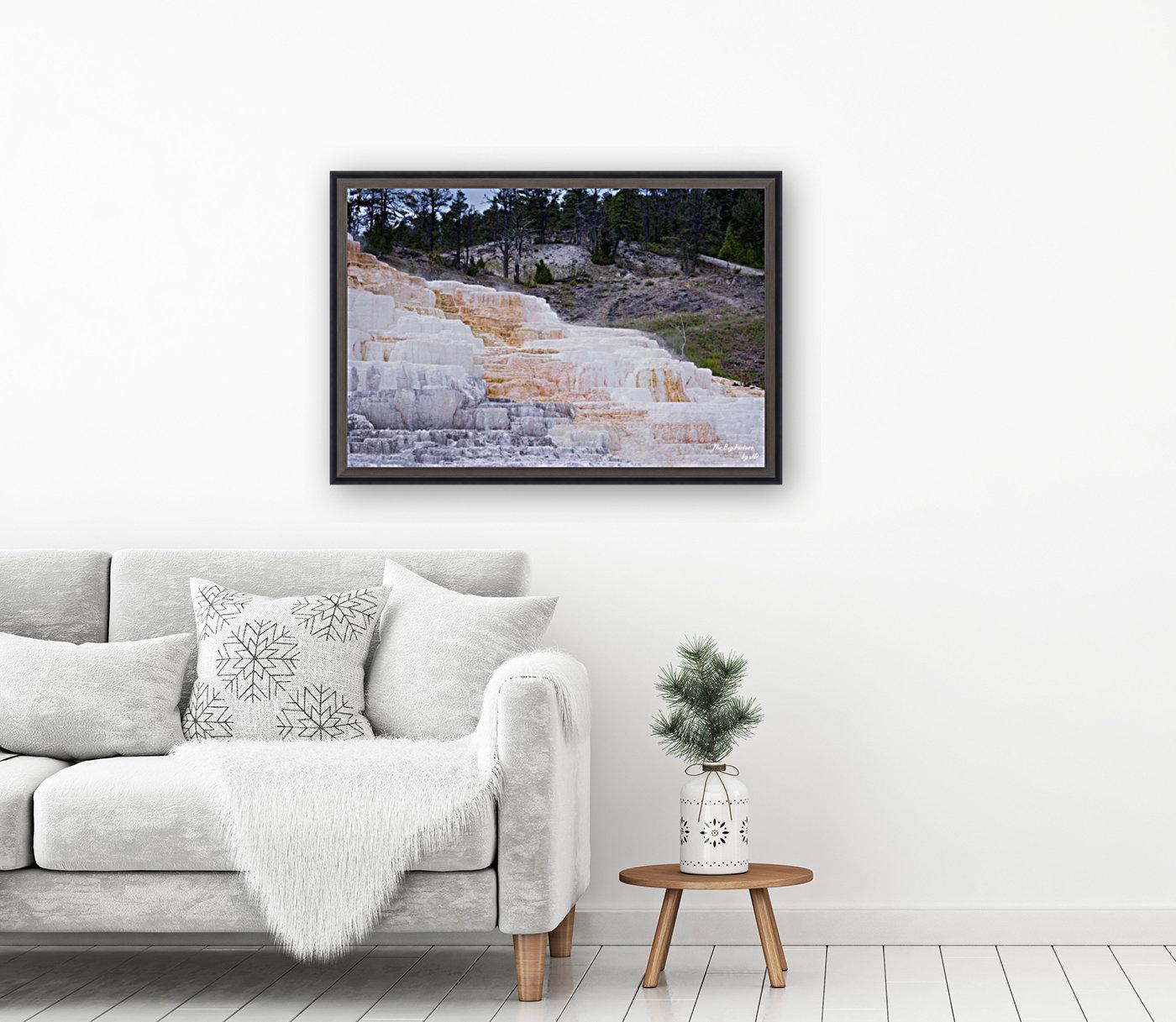 Yellowstone Lower Terrace  Art