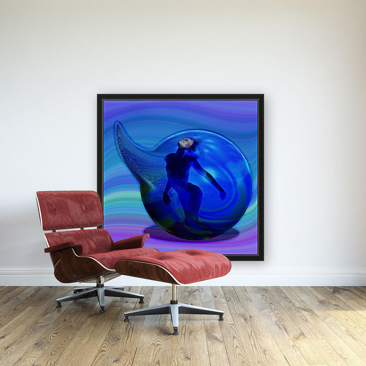 The Birth of Marmaid   Art