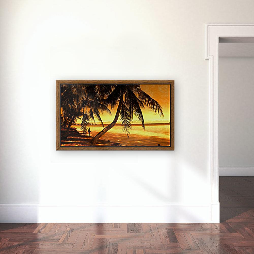 Fiery Hour Saipan  Art