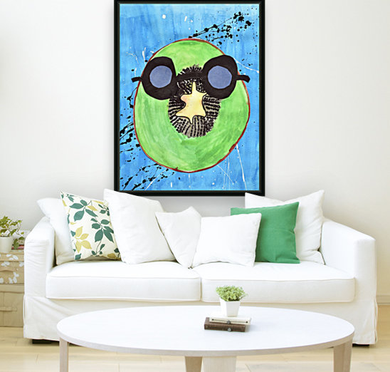 Kiwi Man. Michael D  Art