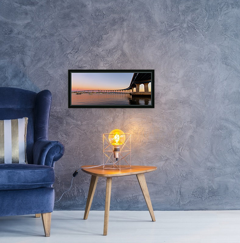 Timeless Symphony with Floating Frame