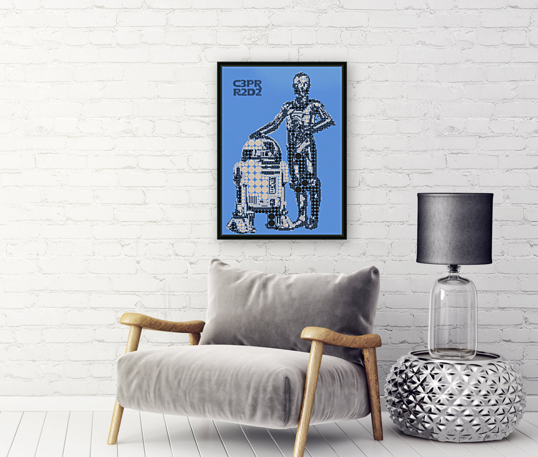C3PO & R2D2  Art