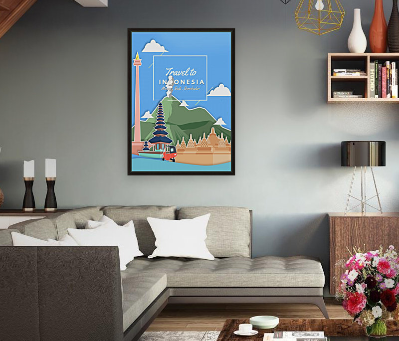 Travel To Indonesia  Art