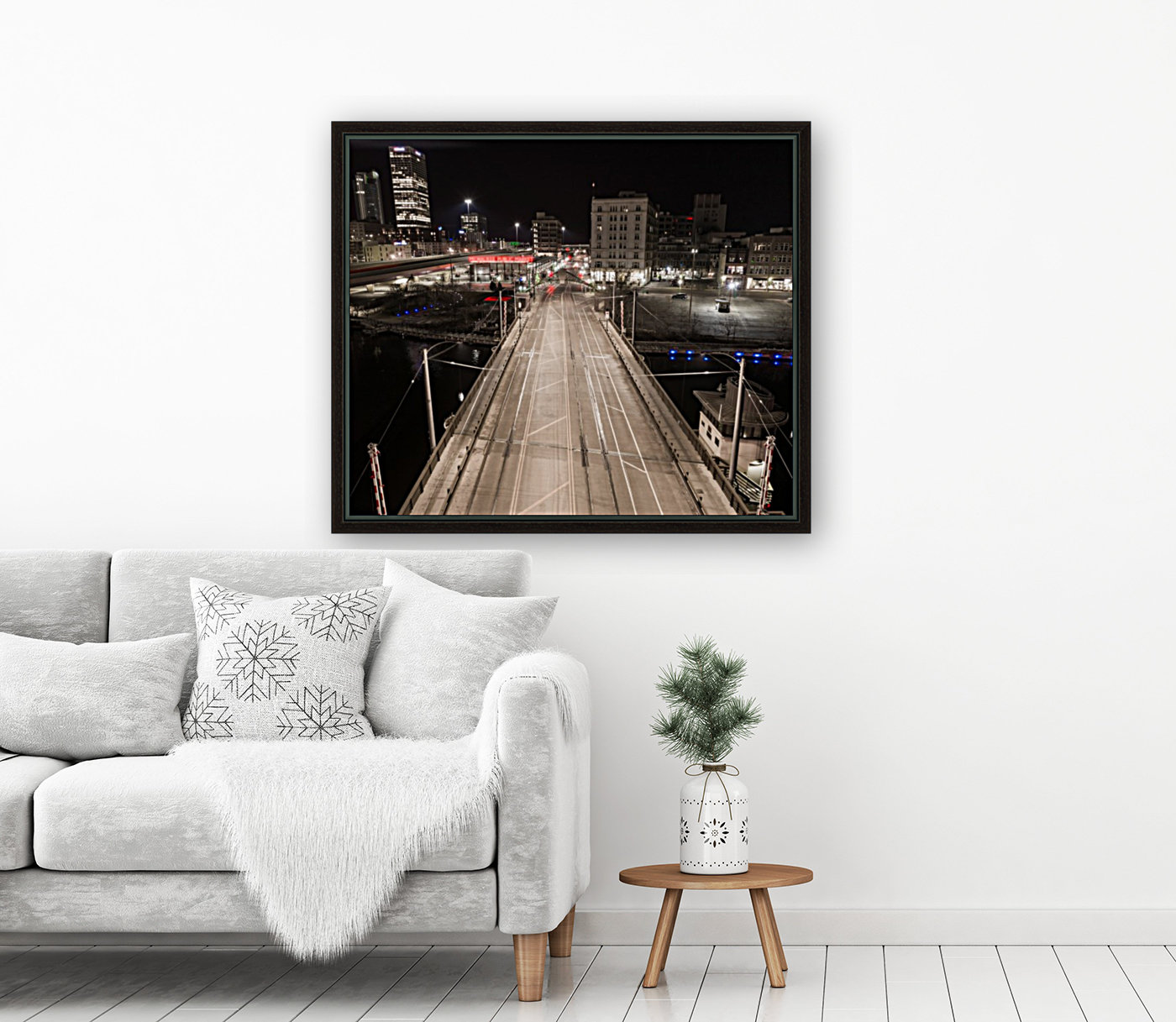 Milwaukee Bridge of The Past  Art