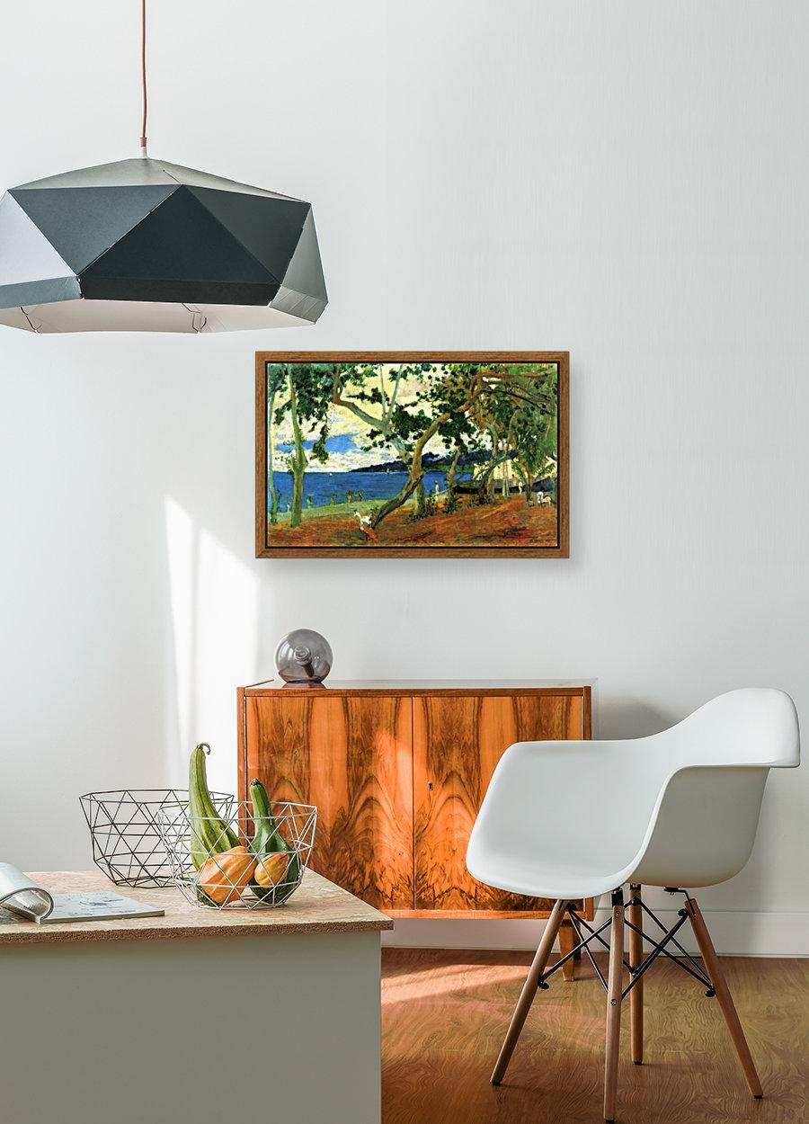 Beach Scene 2 by Gauguin  Art