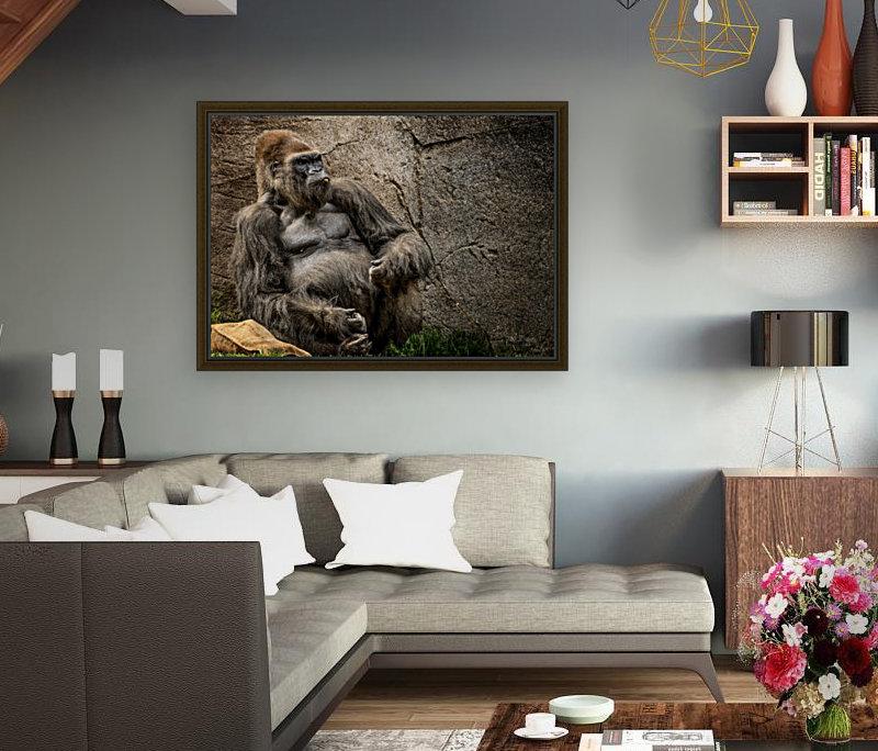Big Daddy Silverback Gorilla  Art