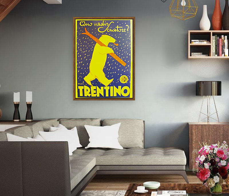Vintage Travel - Trentino  Art