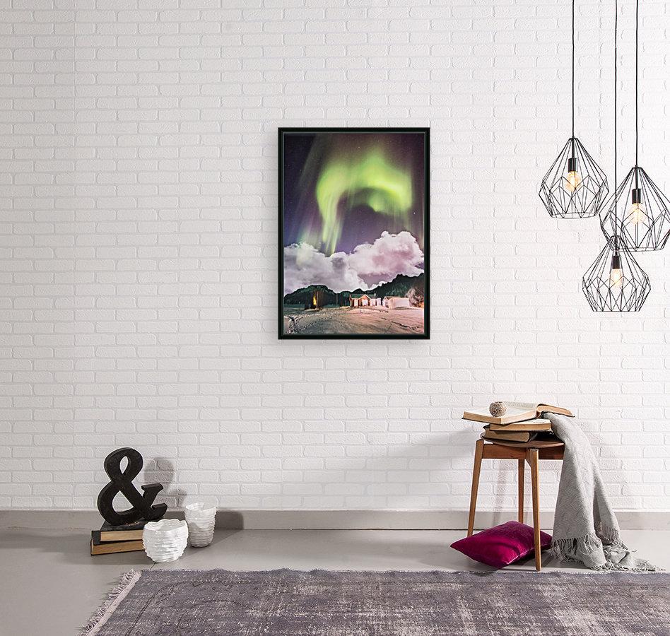 Aurora In The Winter  Art