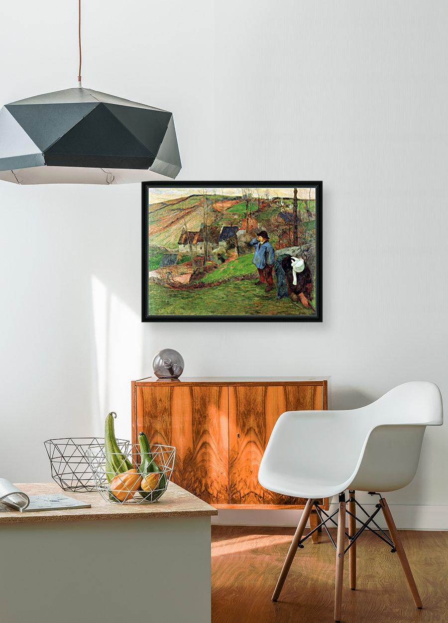 Breton Shepherd by Gauguin  Art