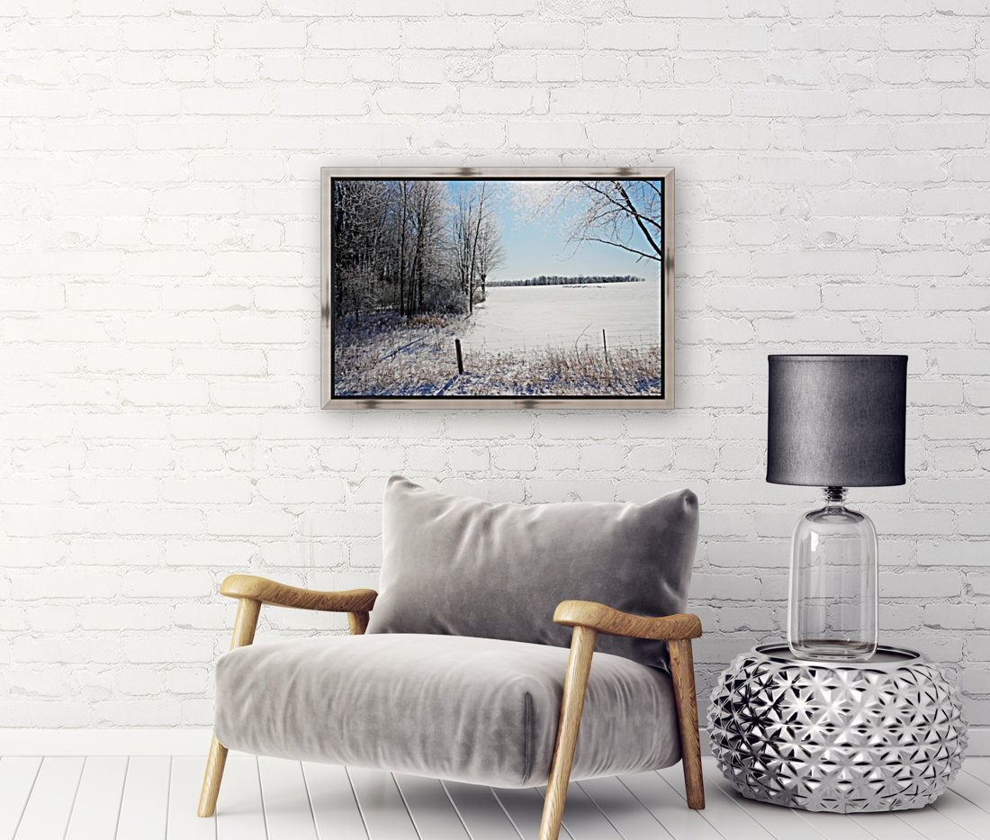 Frosty Winter Countryside I  Art
