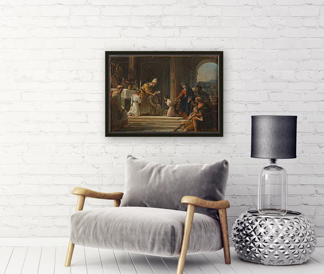 Esquisse pour l eglise Notre Dame de Lorette Consecration de la Vierge  Art