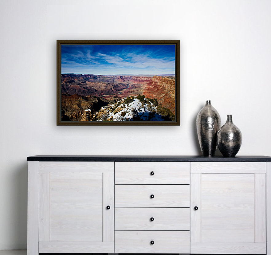 Grand Canyon with Floating Frame